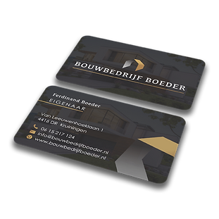 3. Visitekaartje Bouwbedrijf Boeder - vi