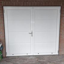 7. schuur - garagedeuren vervangen - ope