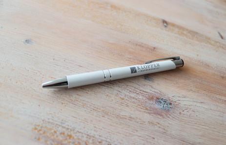 Pen personaliseren - pen met logo - Klop