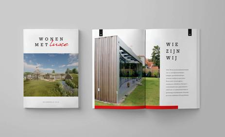 2. Magazine vormgeving - bouwbedrijf Rij