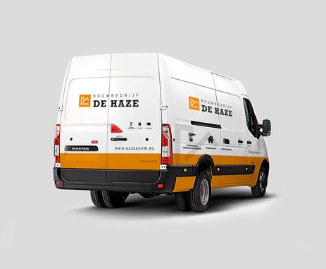 2. Bouwbedrijf De Haze werkbus ontwerp -