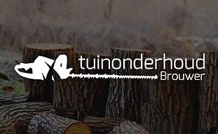Tuinonderhoud brouwer logo