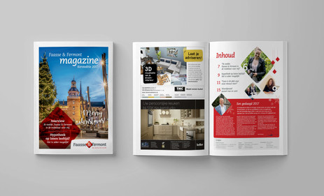 3. Magazine vormgeving - Faasse en Fermo
