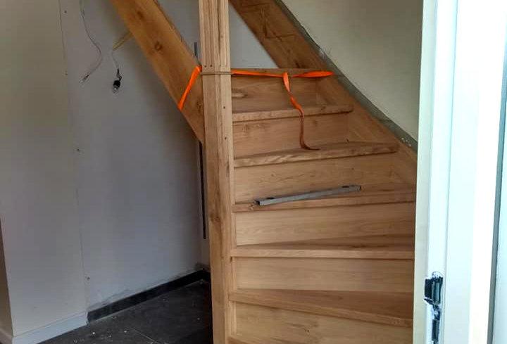 Geheel nieuwe trap in Opperdoes