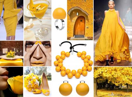 Letní barva slunečno žlutá