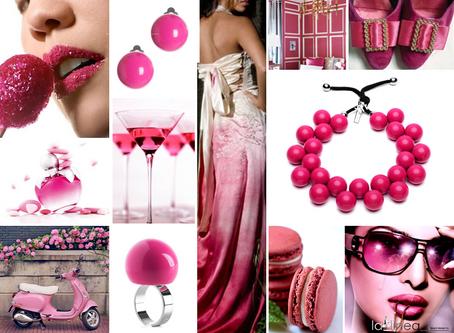 Fuchsie - zářivá  růžová