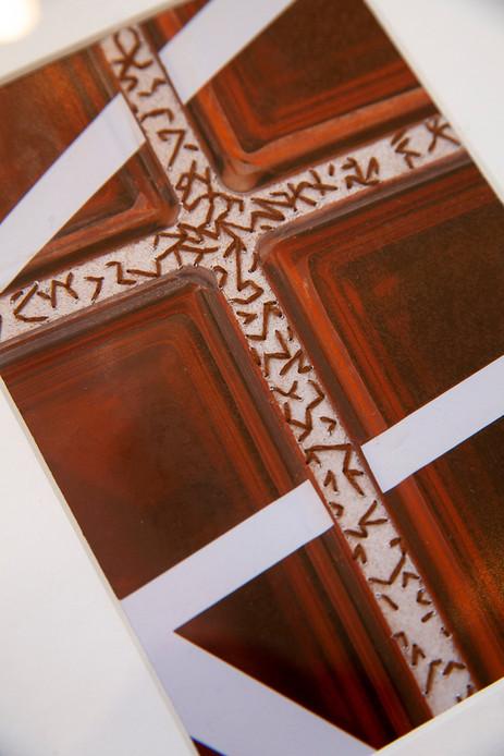 detail - Orange & Stone