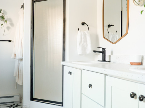 Master Bathroom Budget Refresh