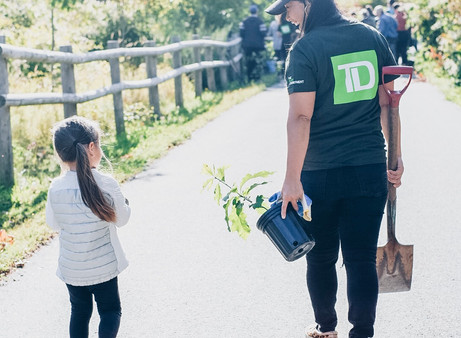 TD Tree Days | Planting a Greener Tomorrow