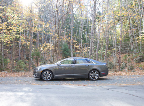 A #quietluxury experience with the 2017 Lincoln MKZ Hybrid