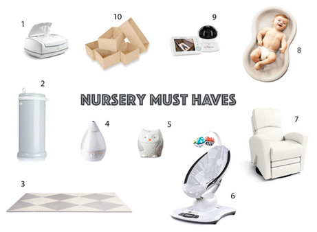 Nursery Must Haves
