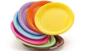 piatti in plastica
