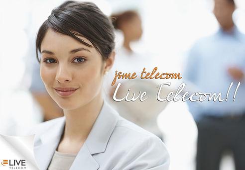 Společnost LIVE TELECOM a.s., alternativní operátor, poskytovatel hlasových služeb a internetu ADSL pro domácnosti, podnikatele a firmy