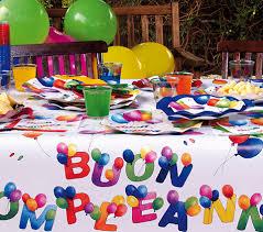 tavola buon compleanno