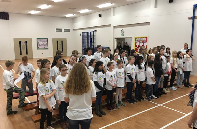 We Are the Voice with St. Lawrence Junior School, East Molesey