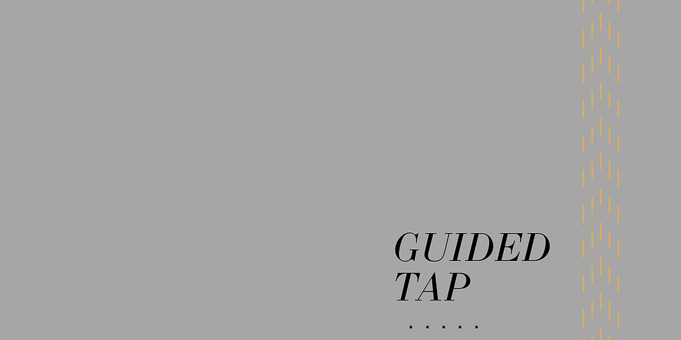 July's LIVE Guided Tap with Poppy Delbridge