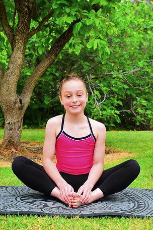 Mindfulness Yoga Student Pose