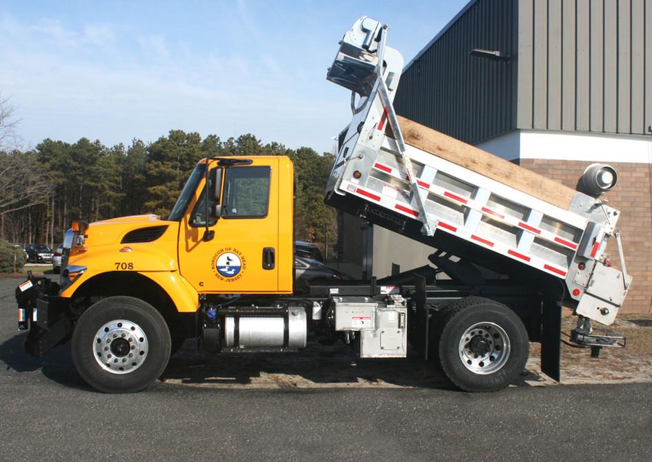 Bay Head Dump Truck Tectyl Undercarriage Coatings