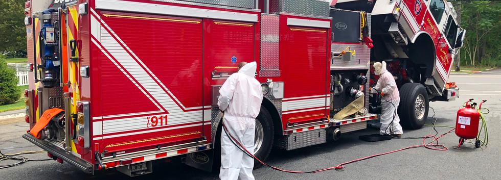 MILSPRAY Rustproofing - Plainsboro Fire