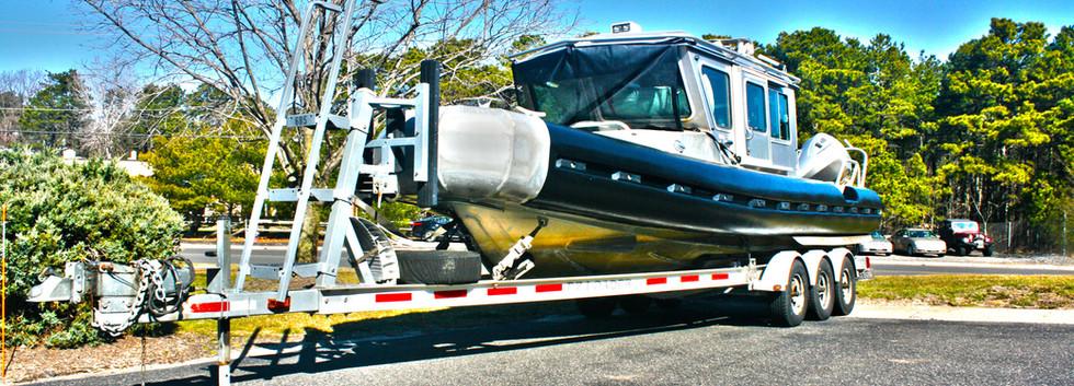 Police Rescue Boat