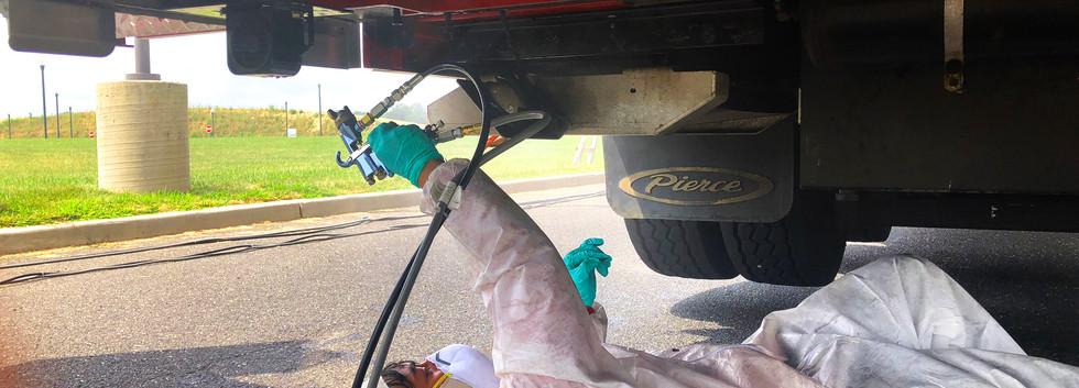 MILSPRAY Rustproofing - Monroe Fire Depa