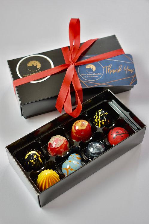 Selection box of 8 bonbons