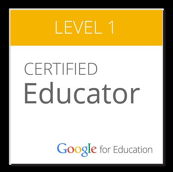 Google Certification Level 1