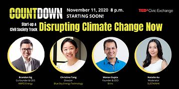 TEDxCivic Exchange, HK energy innovations