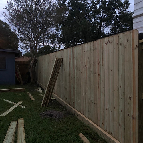 Fence demo and build