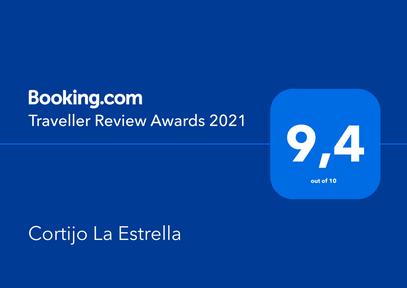 Booking Award 2021 Cortijo la Estrella