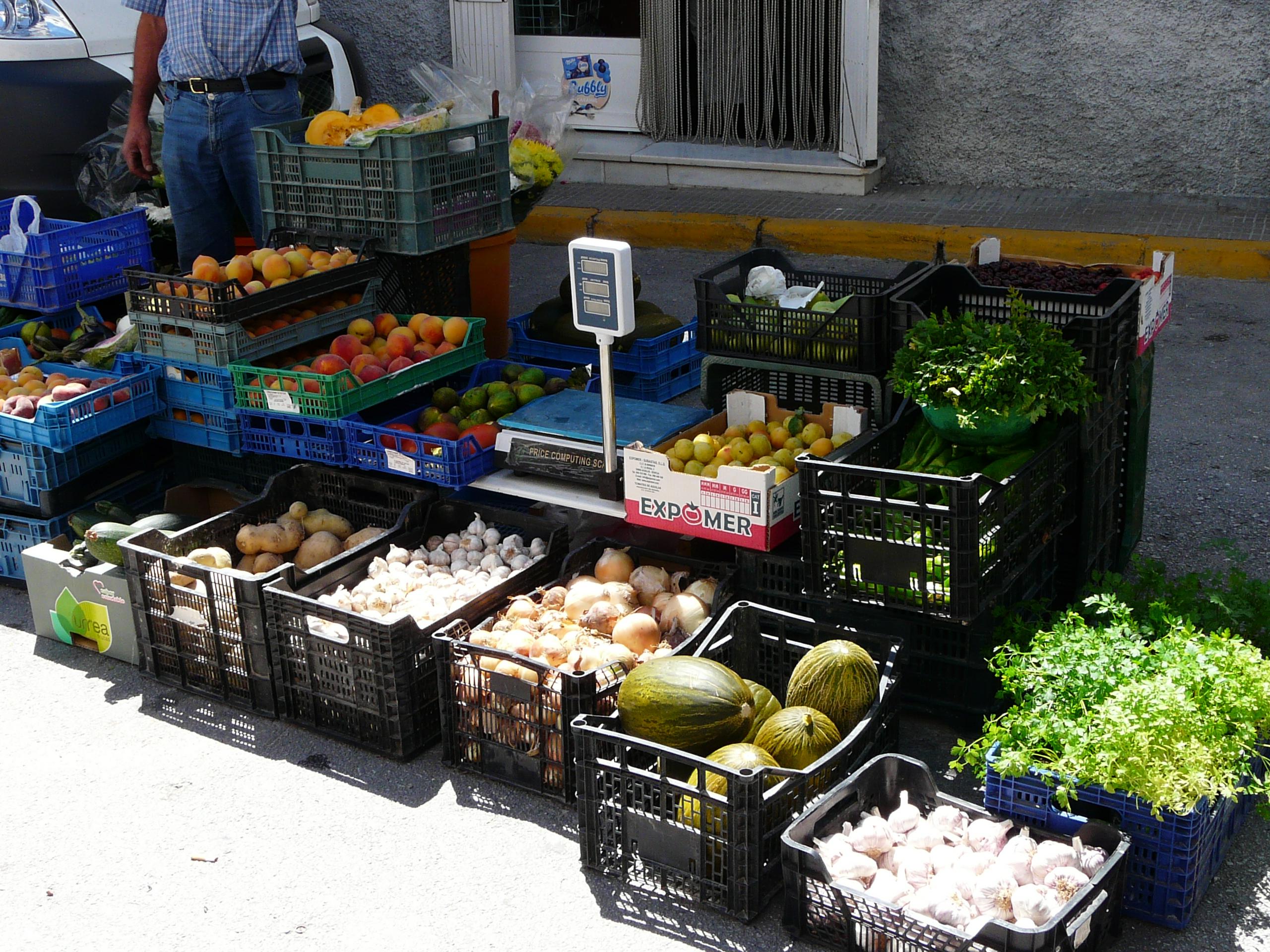 Street Market Stall