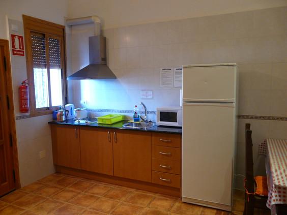 Cocina Apartamento Un Dormitorio Cortijo la Estrella