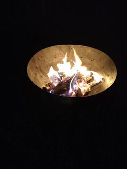 Brasero de leña/ Fire pit