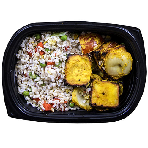 GRILLED PANEER (vegetable rice)
