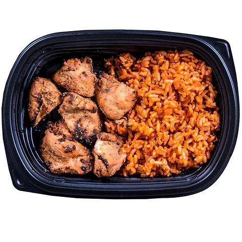 CHICKEN TIKKA (spicy rice)