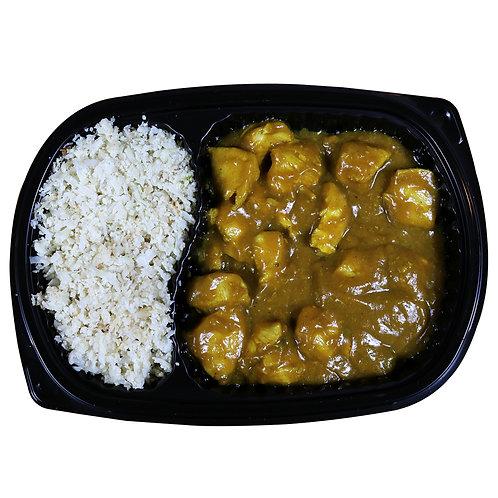 CHICKEN CURRY (cauliflower rice)
