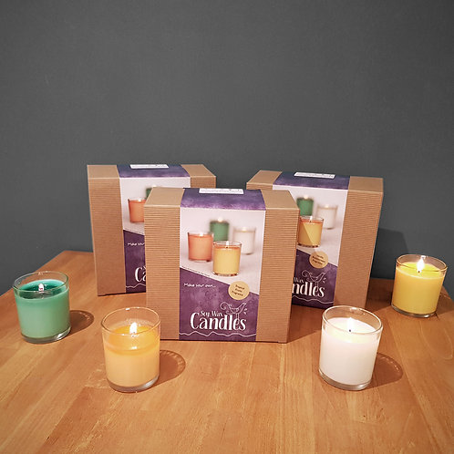 Craft at Home - Soy Wax Candles Kit