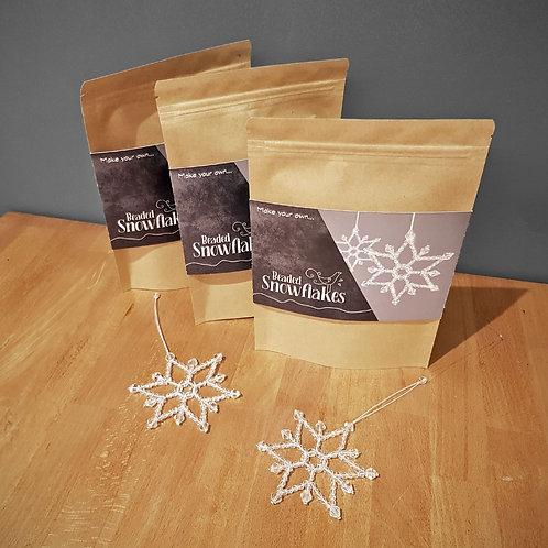 Make your own - Beaded Snowflakes Kit