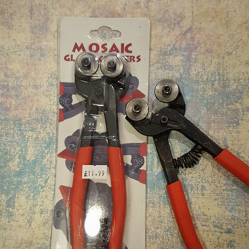 Wheeled Nippers - Mosaic Glass Cutters