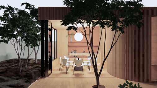 Coup : a guest house and art studio