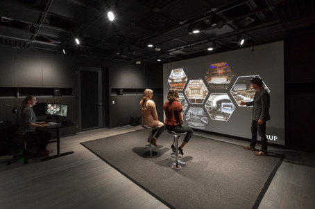 A Digital environments lab.  Design San Francisco, CA [w/ previous architectural practice]