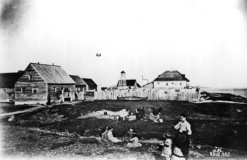 Fort Albany First Nation old photo