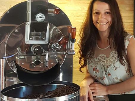 A mais recente apaixonada por café