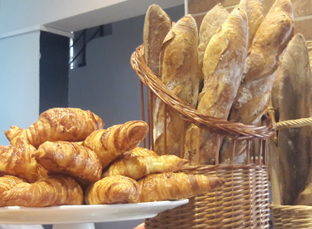 Sabor dos verdadeiros pães franceses em nossa região