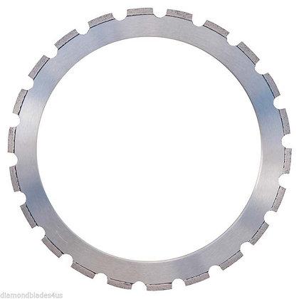 "14"" Pro Diamond Ring Saw Blade w/ New Drive Wheel"