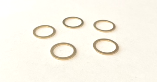 """5 Pack of Adapter Bushings Converts 20mm Down to 5/8"""" for Saw Blades"""