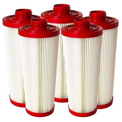 Pulsebac HEPA Heavy Duty Filters Set of 5 Fits HPLM series
