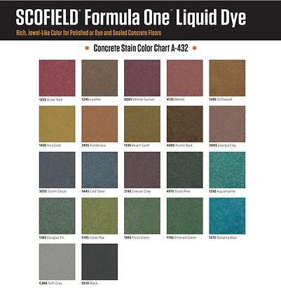 Scofield Formula One Concrete Liquid Dye 1 Gallon