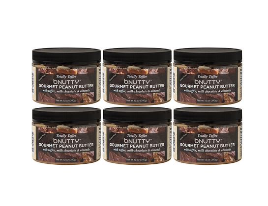 6 Pack of Totally Toffee