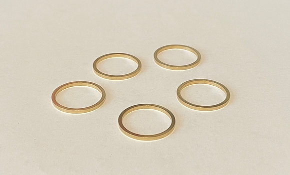 """5 Pack of Adapter Bushings Converts 1"""" Down to 7/8"""" for Saw Blades"""